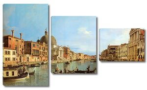Фреска с видом на прекрасную Венецию