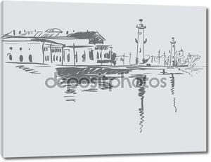 Эскиз Санкт-Петербурга