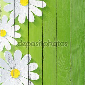 Абстрактный цветочный фон Весна, 3d цветок ромашка