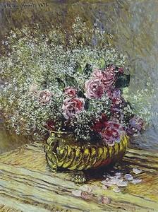 Моне Клод. Цветы в горшке, 1878
