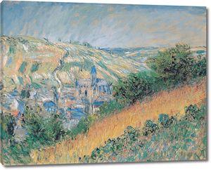 Клод Моне. Вид на Ветей 1881