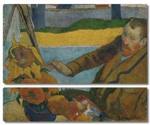 Поль Гоген. Ван Гог, рисущий подсолнухи
