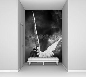 Крылья ангела за спиной