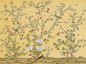 Птички на кустах