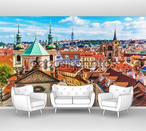 Аэрофотоснимок Прага, Чешская Республика