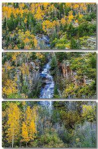 Осенние цвета горного каскада