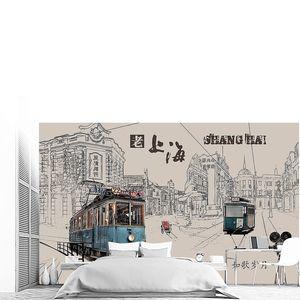 Трамваи в Шанхае
