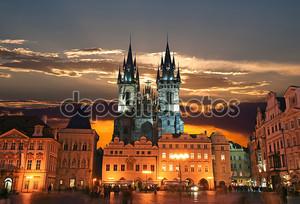 Староместской площади в Праге