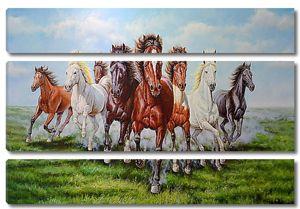 Кони по равнине