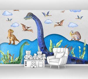 Различные динозаврики