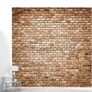 Дизайн интерьера - кирпичная стена