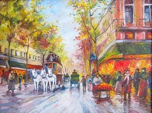 Оригинальные картина маслом Париж