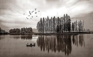 Острова на реке