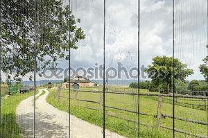 пейзаж сельской местности