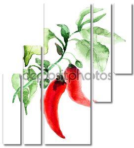 красный острый перец Чили