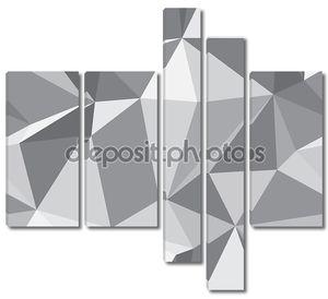 Алмаз бесшовный паттерн - абстрактный многоугольника текстуры