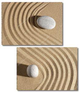 Каменный сад на песке