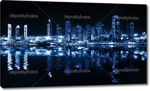 Отражение в воде, Дубай