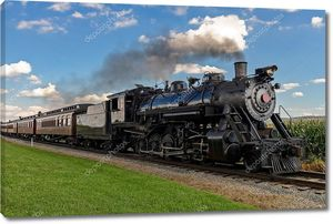 паровой поезд