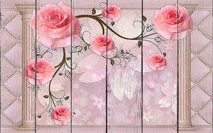 Розы с колоннами