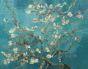 Миндальный цветок, темная версия, Ван Гог Винсент, 1890