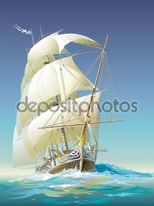 Океанский корабль