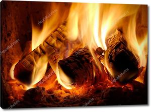 Сжигание заготовки
