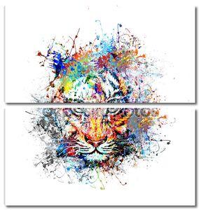 Абстрактный Тигр