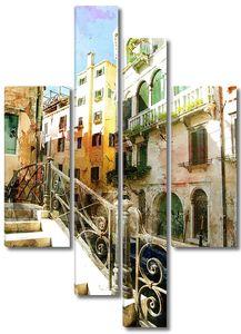 Лестница в солнечной Венеции