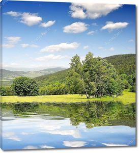 Весенний пейзаж в национальном парке