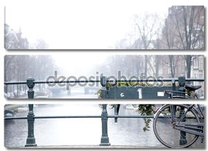 Bicycle on Amsterdam Bridge