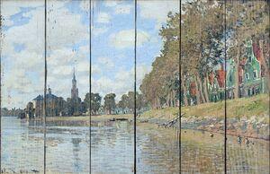 Моне Клод. Заандаме, 1871