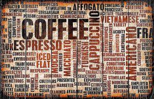 фон кофе