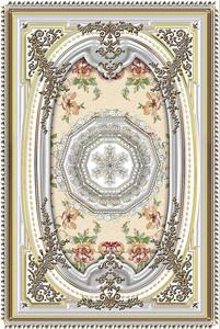Дизайн потолка в дворцовом стиле