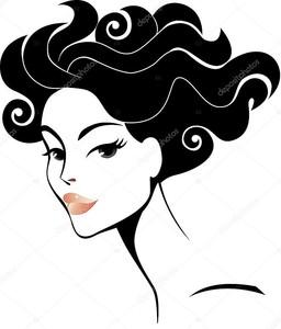 Женская голова