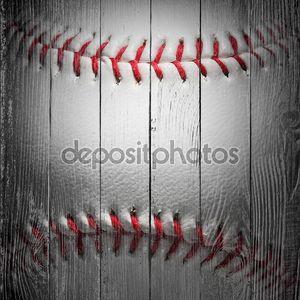 крупным планом бейсбол