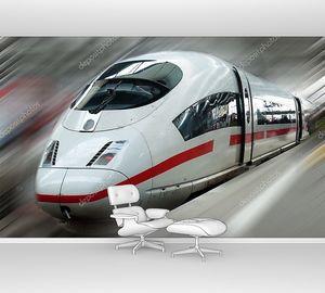 Современный пассажирский электропоезд