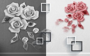 Диптих. Розы