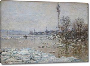 Моне Клод. Ледоход, 1880