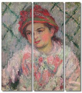 Моне Клод. Бланш Хоше, 1880