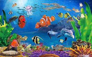 На дне моря