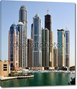 Дубай. Дубай Марина