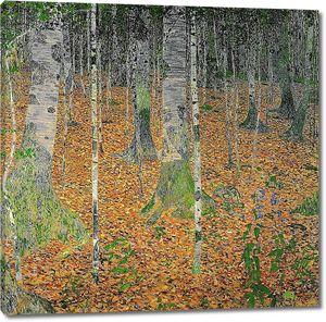 Густав Климт. Березовая роща