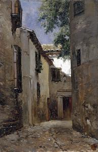 Аэс Карлос де. Улица в Толедо