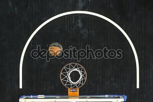 Греческой лиги корзина игры ПАОК против Олимпиакос