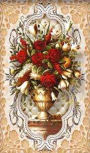 Восточный букет из роз