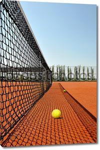 теннисный теннисный корт