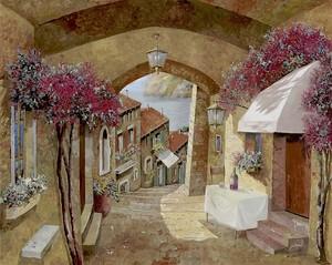 Улочки арка Италии