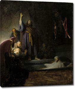 Рембрандт. Воскрешение Лазаря