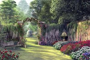 Старинный сад
